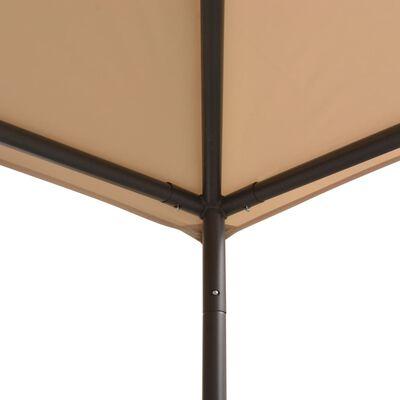 vidaXL Gazebo Pavilion Tent Canopy 3x3 m Steel Beige
