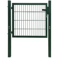 2D Fence Gate (Single) Green 106 x 130 cm