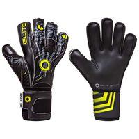 Elite Sport Goalkeeper Gloves Vibora Size 8 Black