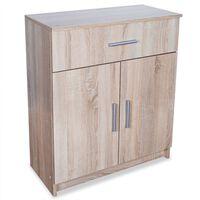vidaXL Sideboard Chipboard 71x35x88 cm Oak