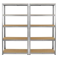 Monster Racking Galwix Steel Shelves Galvanised Shelving - 2 x 75cm