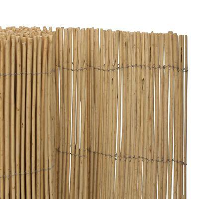 vidaXL Willow Fence 3x1.5 m