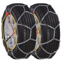 2 Car Snow Chains 12mm KN110 235/40-18 225/40-19 235/50-17 215/60-16