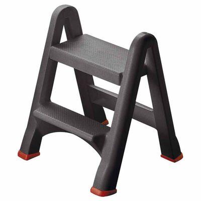 Curver Folding Step Stool 150 kg Anthracite