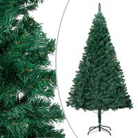 vidaXL Artificial Christmas Tree with Thick Branches Green 150 cm PVC
