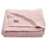 Jollein Blanket River Knit 100x150 cm Pale Pink