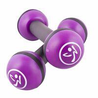 Zumba Toning Sticks 2 pcs 2 kg Purple ZUM011