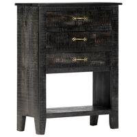 vidaXL Side Cabinet 60x30x80 cm Solid Mango Wood