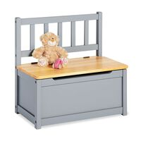 Pinolino Children's Storage Bench Fenna Grey