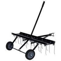 vidaXL Scarifier for Ride-on Mower 100 cm