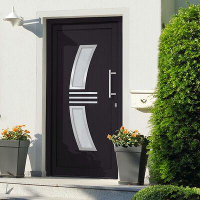 vidaXL Front Door Anthracite 98x200 cm