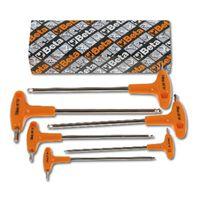 Beta Tools 6 Piece Ball Head Offset Hexagon Key Wrenches Set 96TBP/S6