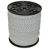 Kerbl Electric Fence Rope Rubber 25 m 7 mm 441890
