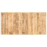 vidaXL Table Top Solid Mango Wood 16 mm 200x100 cm