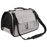 FLAMINGO Pet Carrying Bag Amy Grey 45x21x28 cm