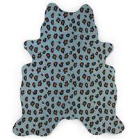 CHILDHOME Kids Carpet 145x160 cm Leopard Blue