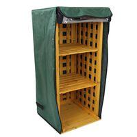 2 in 1 Firewood Log / Wellie Storage Garden Wood Stand Rack