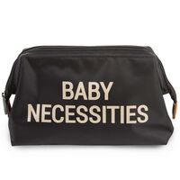 CHILDHOME Toiletry Bag Baby Necessities Black Gold