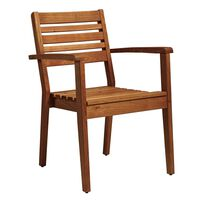 Meer Arm Chair - Robinia Wood