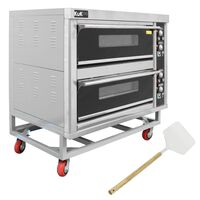 KuKoo Commercial Catering Pizza Baking Oven & Pizza Peel