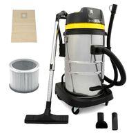 MAXBLAST Industrial Wet Dry Vacuum Cleaner & Attachments 50L