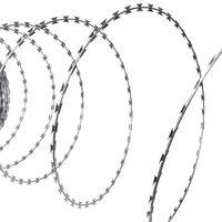 BTO-22 Concertina NATO Razor Wire Galvanised Steel 150 m