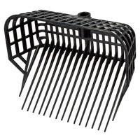 Kerbl Litter Fork Head Maxi Black 326056