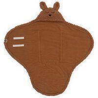 Jollein Baby Wrap Blanket Bunny Caramel