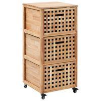 vidaXL Bathroom Cabinet 41x41x91 cm Solid Walnut Wood