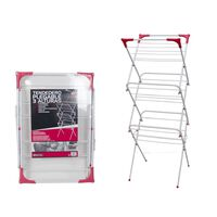 Collapsible Drying Rack Tower 3-Layer 47x47x130cm