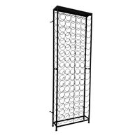 vidaXL Wine Rack for 108 Bottles Metal