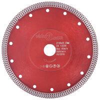 vidaXL Diamond Cutting Disc with Holes Steel 230 mm