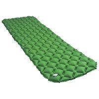 vidaXL Inflatable Air Mattress 58x190 cm Green
