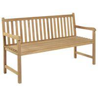 vidaXL Garden Bench 150 cm Teak