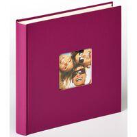 Walther Design Photo Album Fun 30x30 cm Violet 100 Pages
