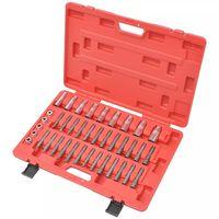 vidaXL 39 Piece Strut/Shock Installation Tool Kit