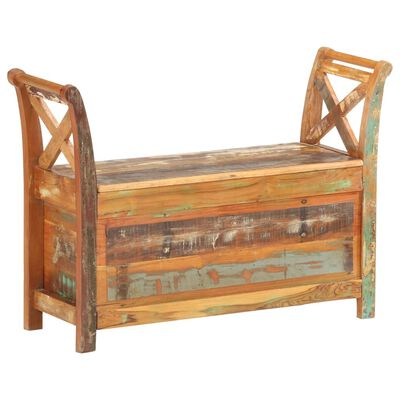 This wooden hall bench shows a simple style, which will make an eye-catching addition to your interior.