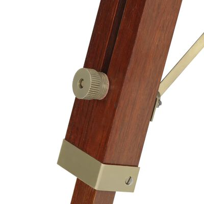 vidaXL Tripod Floor Lamp Solid Mango Wood 69 cm