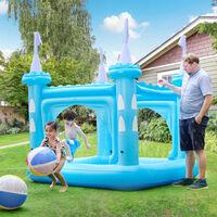 Teamson Kids  Water Fun Castle Children's Kiddie Pool  Blue TK48271BUK