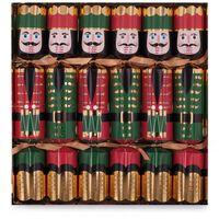Celebration Nutcracker Christmas Crackers 12 - 1 x 6