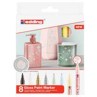 edding Gloss Paint Marker 8 pcs Multicolour 751