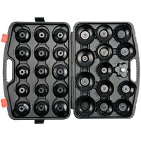 YATO Set of Cup-Type Oil Filter Wrenches 30 pcs