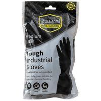 Ramon Pro-Guard Heavy Duty Rubber Gloves Medium - 1x10