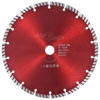 vidaXL Diamond Cutting Disc with Turbo Steel 230 mm