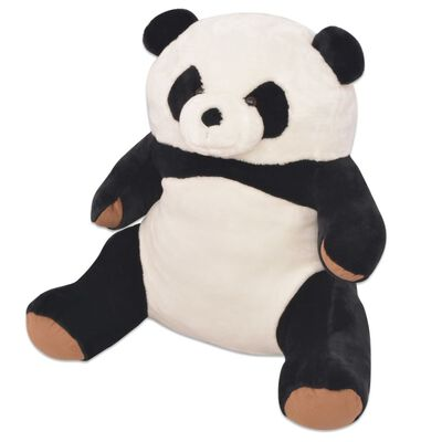 """Bring """"the wild"""" into your child's room with our soft, XXL plush panda cuddly toy with its detailed and impressive appearance! The panda is ideal as a cuddly companion or as a decorative piece."""