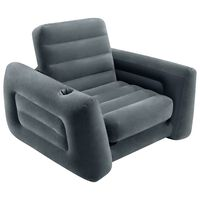 Intex Pull-Out Chair 117x224x66 cm Dark Grey
