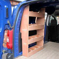 Monster Racking Peugeot Partner SWB Van Rack Shelving Storage Unit