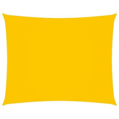 vidaXL Sunshade Sail Oxford Fabric Rectangular 3x4 m Yellow