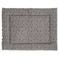 Jollein Playpen Quilt Spot 80x100 cm Storm Grey