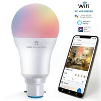 Wiz Led A60 Smart Bulb Wi/bt B22 Rgbw Colours Tuneable White& Dimmable